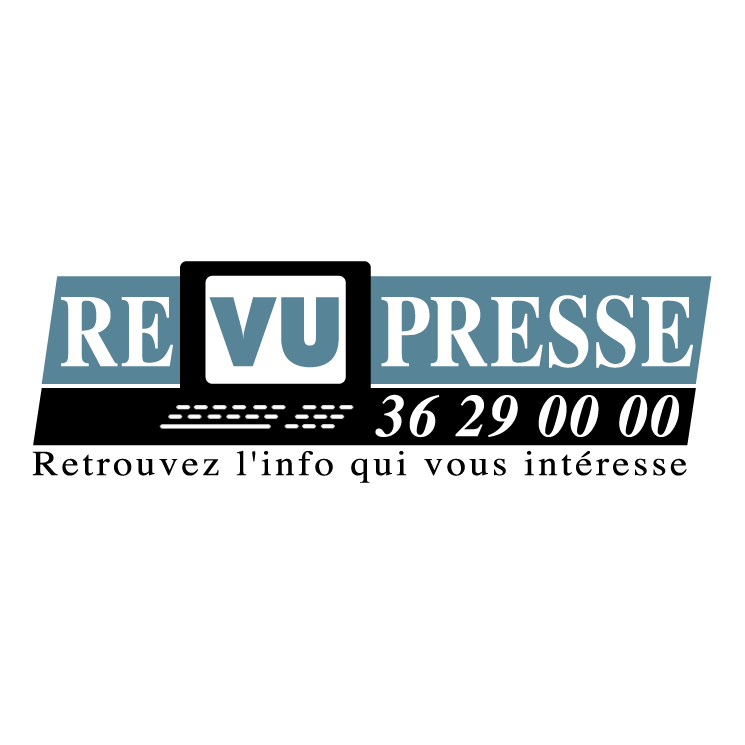 free vector Revu presse