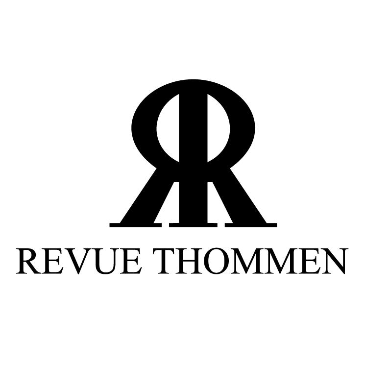 free vector Revue thommen