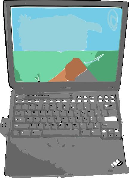 free vector Rgesthuizen Notebook Computer clip art
