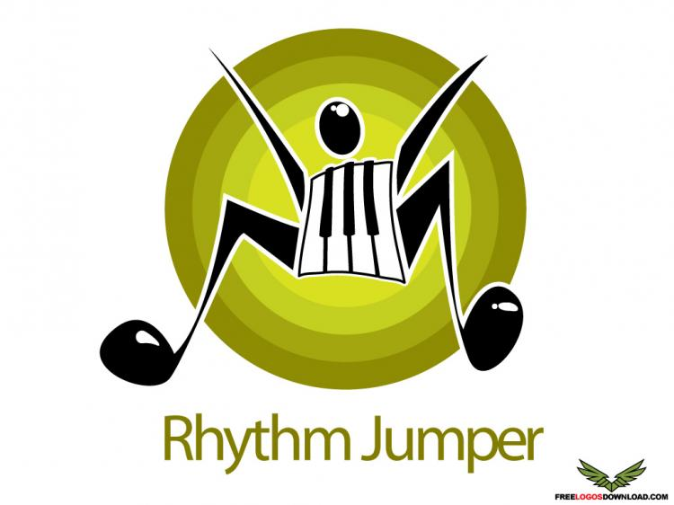 free vector Rhythm Jumper Logo Vector