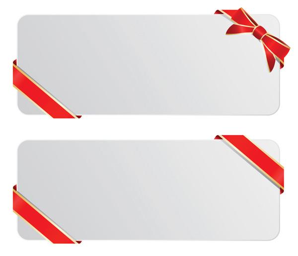 free vector Ribbon and tag vector