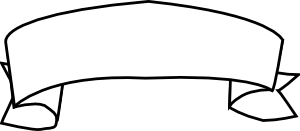 free vector Ribbon Outline clip art