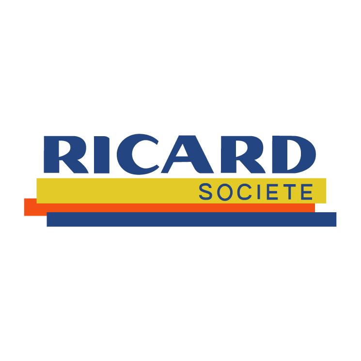 free vector Ricard societe