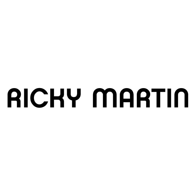 Ricky Martin Free Vector / 4Vector