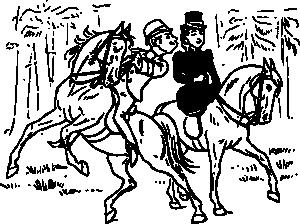 free vector Riding Couple clip art