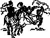 free vector Riding Horses clip art