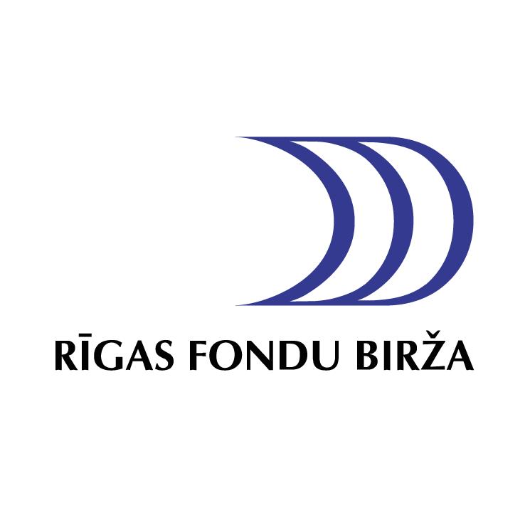 free vector Rigas fondu birza