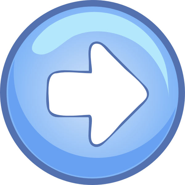 free vector Right Blue Arrow clip art