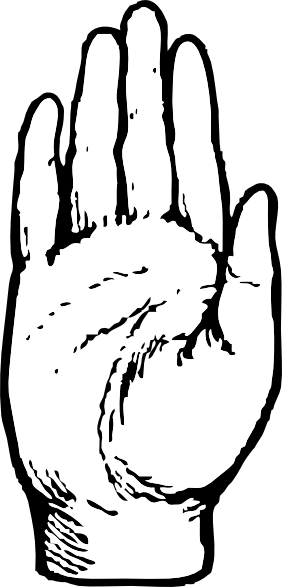 free vector Right Hand clip art
