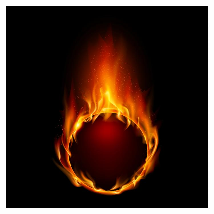 free vector Ring of fire