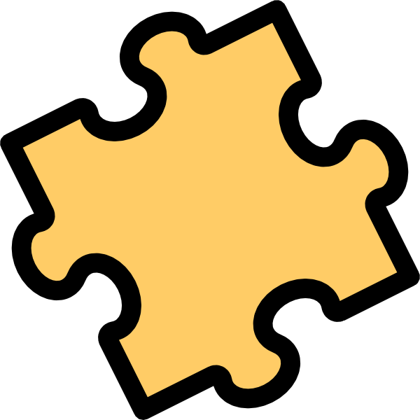 free vector Risto Pekkala Jigsaw Puzzle Piece clip art