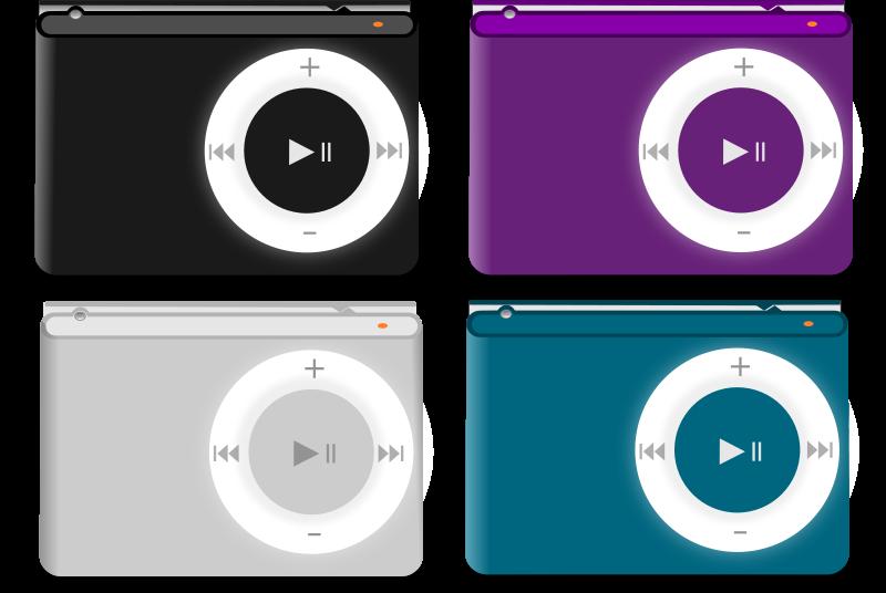 free vector Rmx iPod color