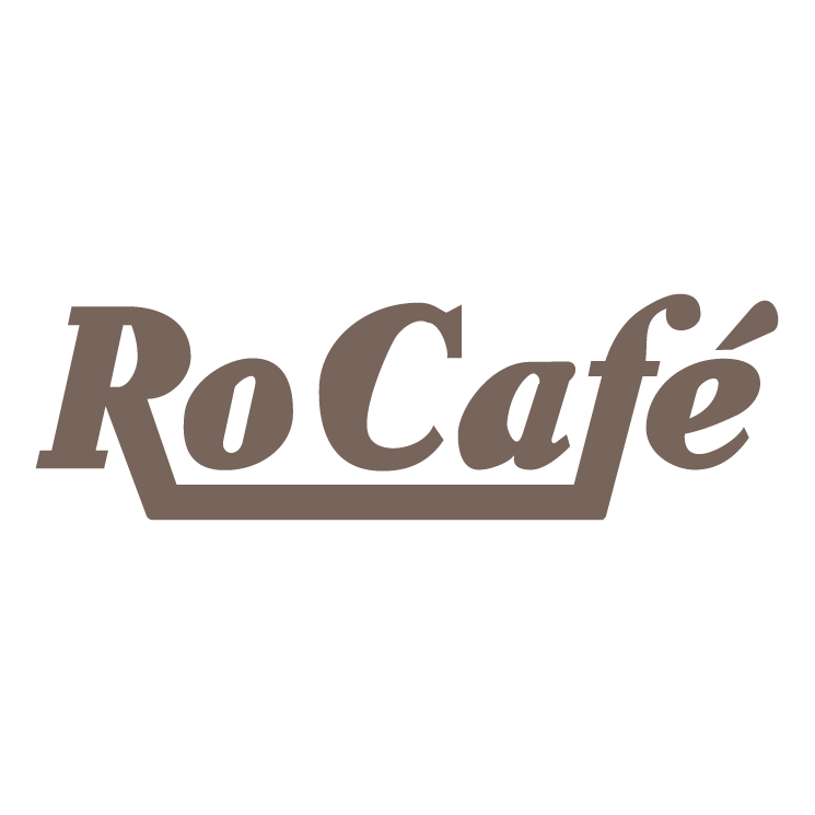 free vector Ro cafe