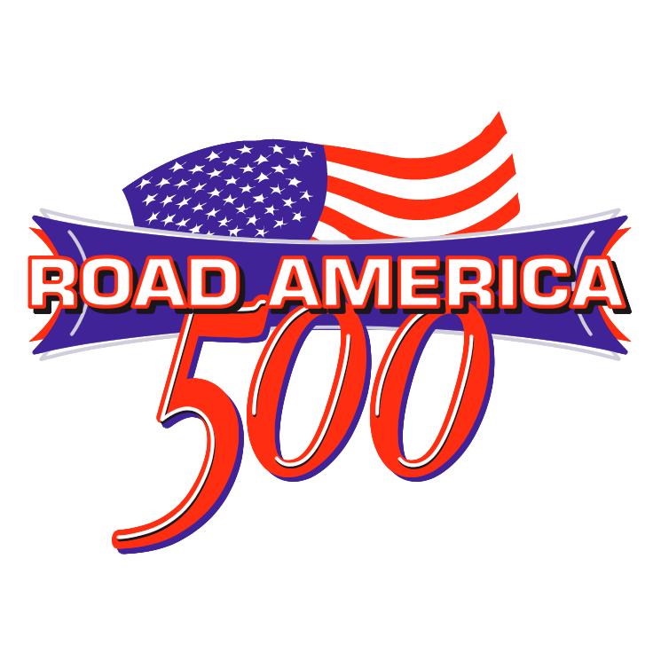 free vector Road america 500