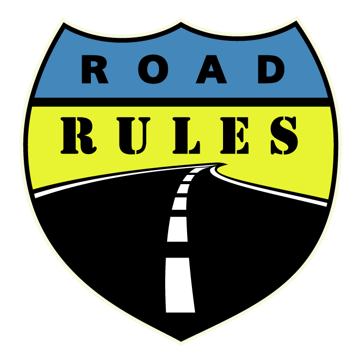 free vector Road rules