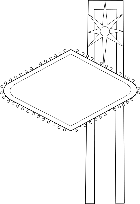 free vector Roadside Sign