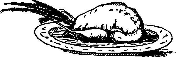 free vector Roast Pheasant clip art