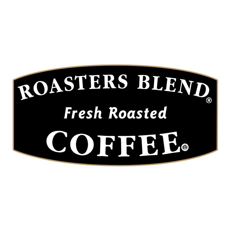 free vector Roasters blend coffee