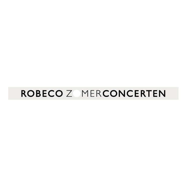free vector Robeco zomerconcerten