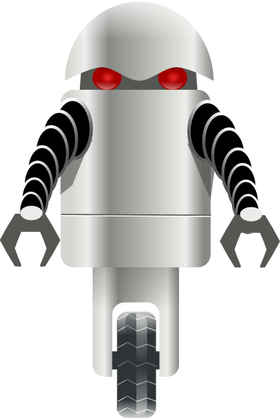 Robot Carrying Things Clip Art Free Vector 4vector