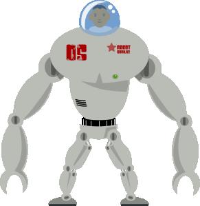 free vector Robot clip art