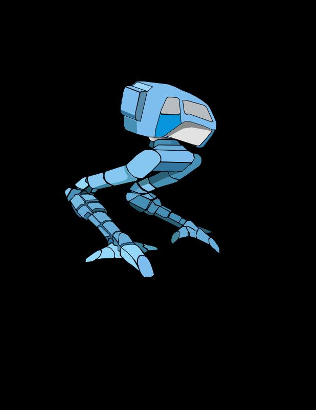 free vector Robot Walker