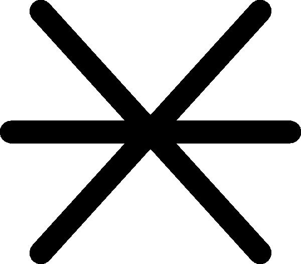 free vector Rock Awash Maritime Symbol clip art