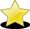 free vector Rocket Emblem Star clip art
