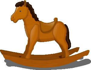 rocking horse clip art free vector 4vector rh 4vector com free clip art horseshoes free clip art horse races