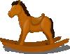 free vector Rocking Horse clip art