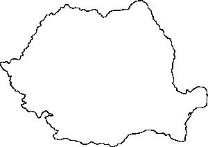 free vector Romania Map Contour clip art