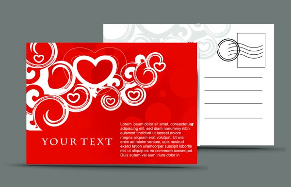 free vector Romantic valentine day elements 02 vector