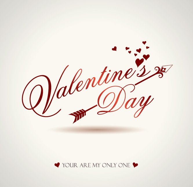Romantic Valentine Day Graphics Vector Free Vector 4vector