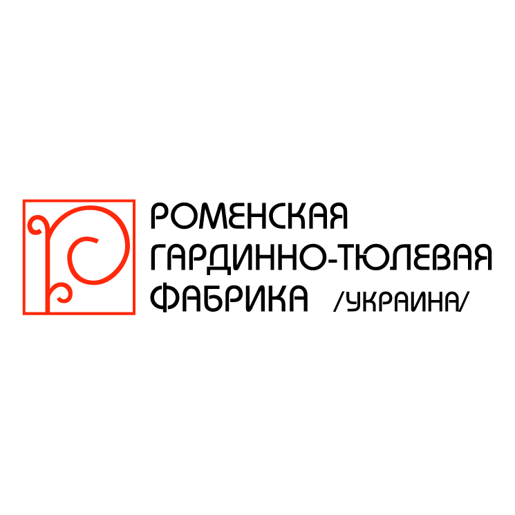 free vector Romeskaya fabrika