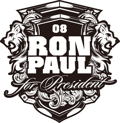 free vector Ron Paul Lions badges Vector
