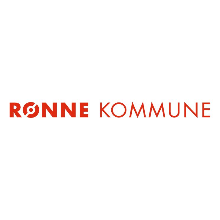 free vector Ronne kommune