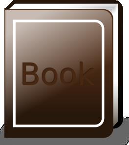 free vector Ronoaldo Brown Book clip art