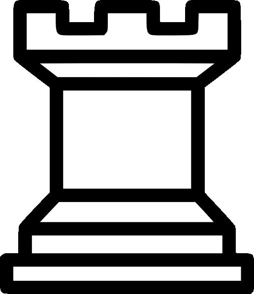 free vector Rook Chess Piece clip art