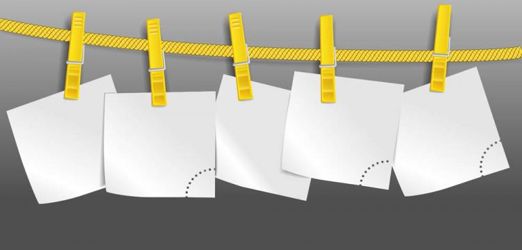 free vector Rope on the blank paper 02 vector