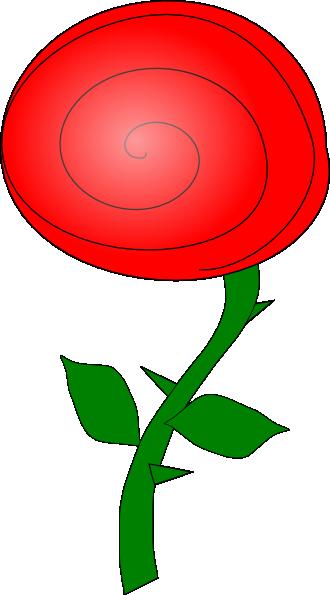 free vector Rose Flower clip art