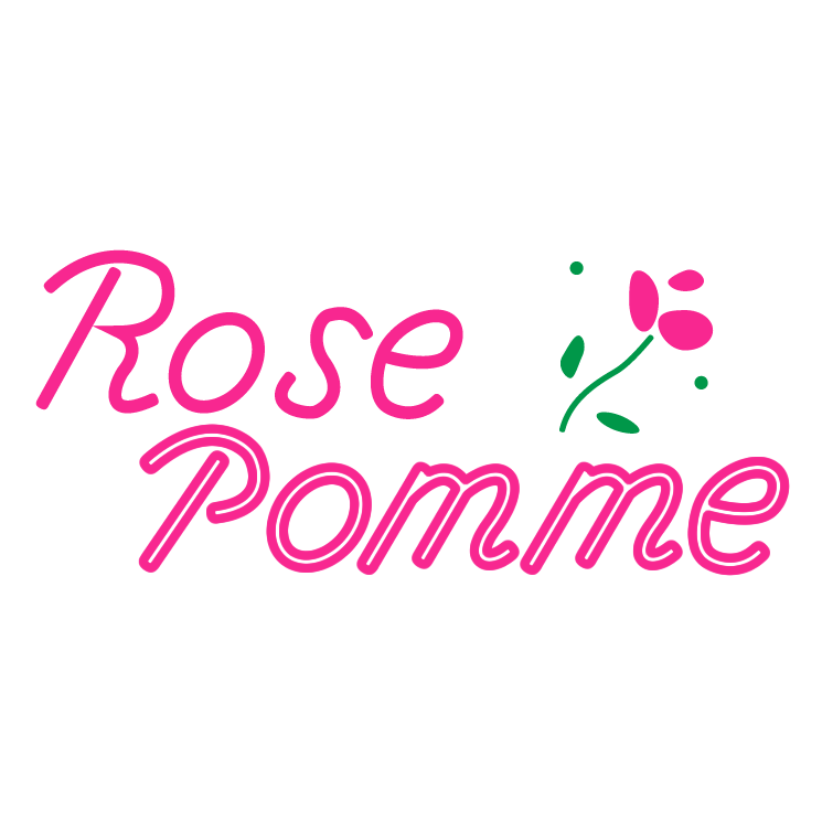 free vector Rose pomme