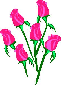 free vector Roses clip art