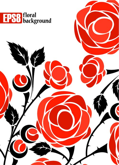 free vector Roses vector 2