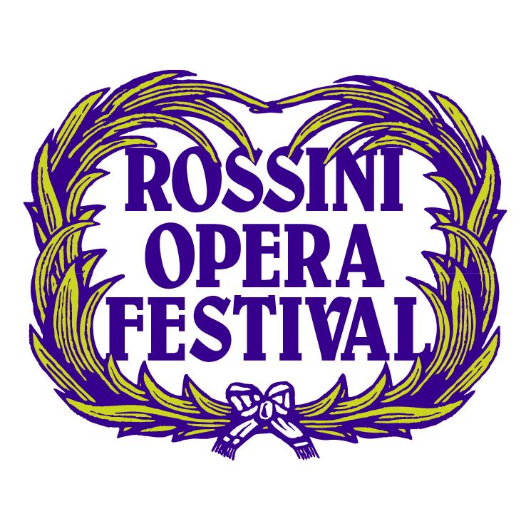 free vector Rossini opera festival 2