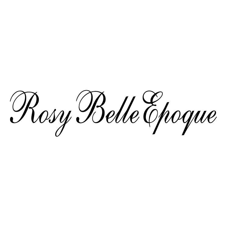 free vector Rosy belle epoque