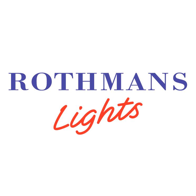 free vector Rothmans lights