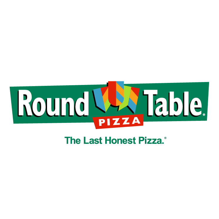 Round table pizza 4 free vector 4vector for Table table logo