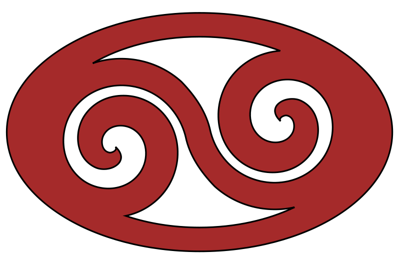 free vector Rounded Swirl