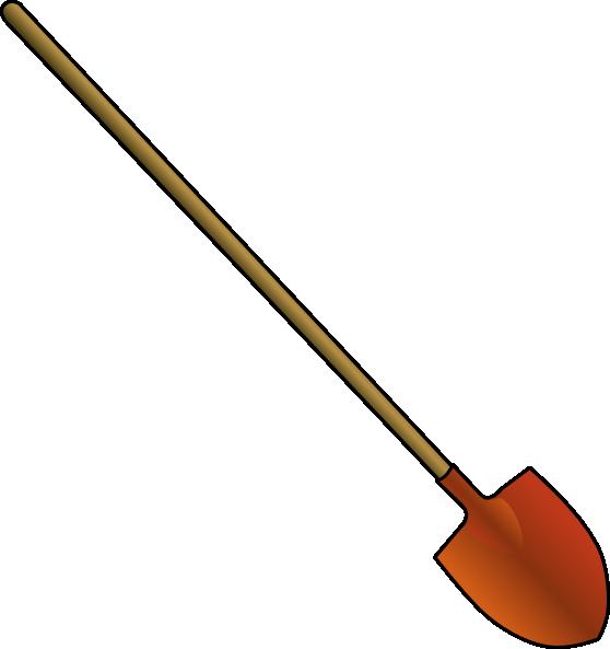 free vector Roundpointshovel clip art