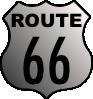 free vector Route 66 clip art